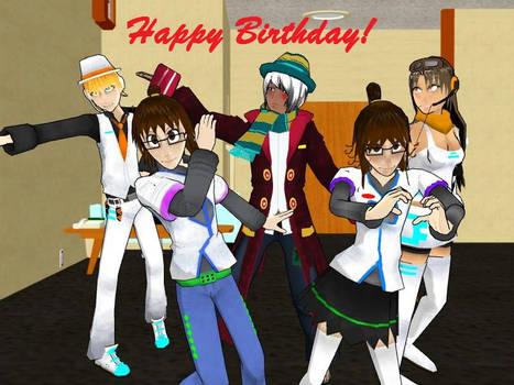 Happy Birthday Sonictheunknown!