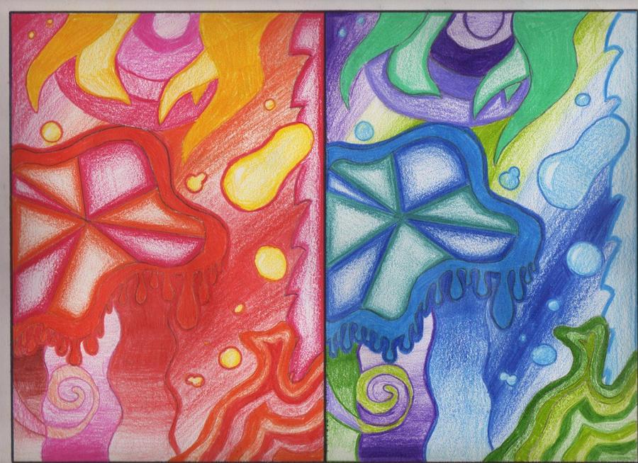 Colores frios y calidos by natyflor on deviantart - Colores calidos frios ...