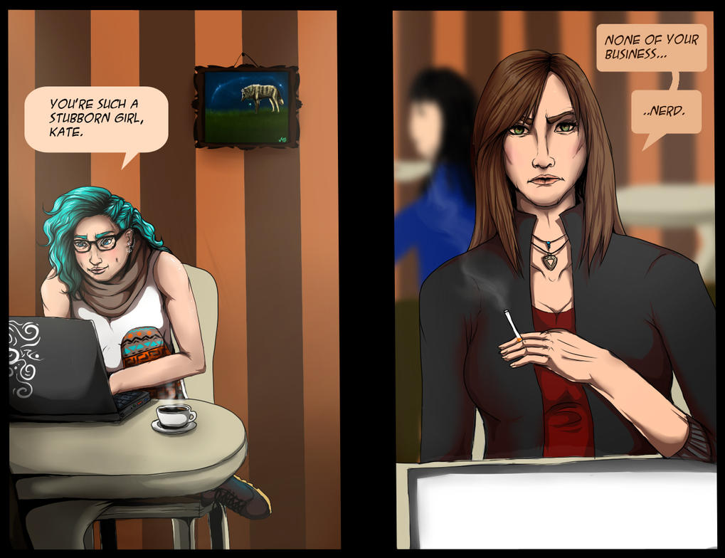 Shane and Kate's third meeting by Tanchie97