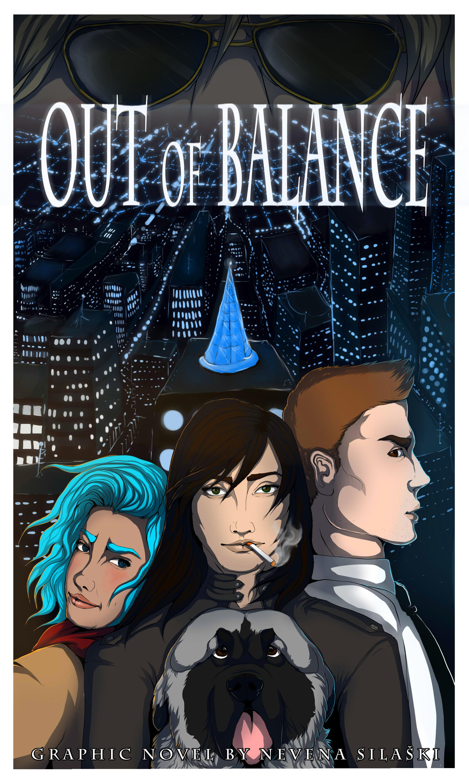 Out of Balance COMIC COVER by Tanchie97