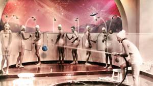 Shower In MARS by ArtDJ2008