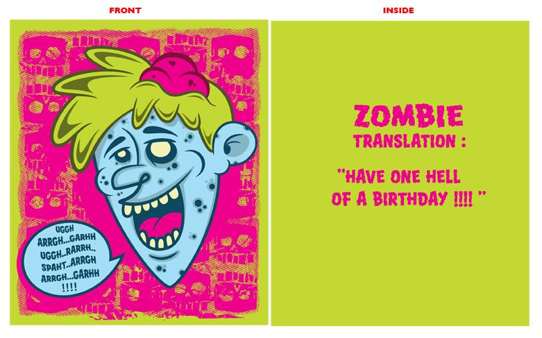 Zombie birthday card by hoss84 on deviantart zombie birthday card by hoss84 bookmarktalkfo Images