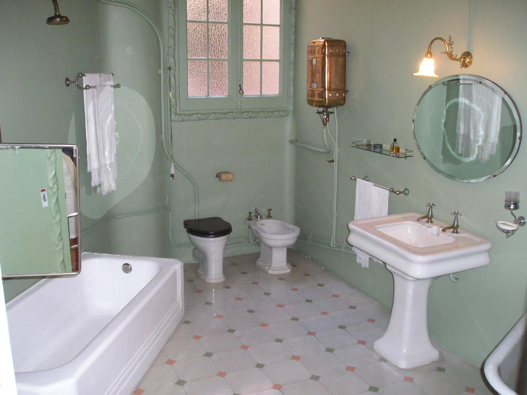 Old Bathroom By Maladie Stock
