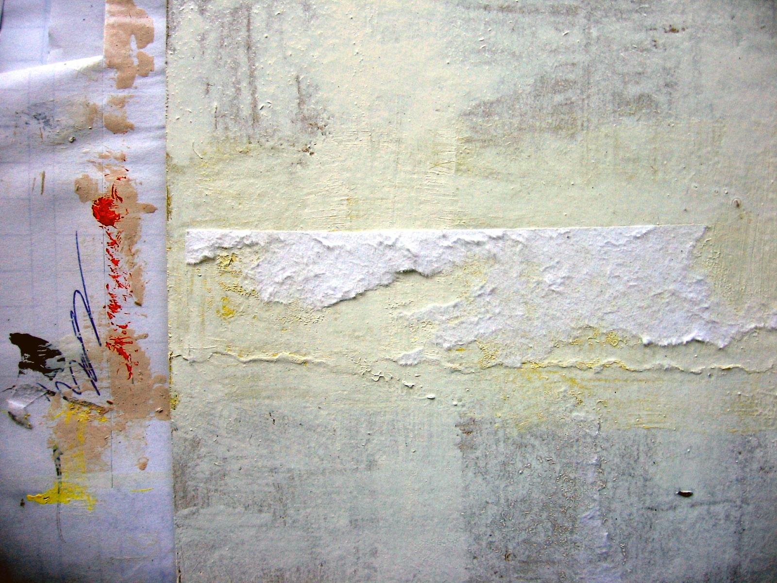 painted cardboard