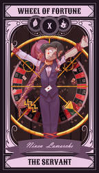 MMG6 - Wheel of Fortune by SolarSnivy
