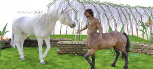 Mythical Creatures Meet....