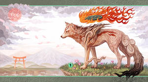 Okami by KettleQuill