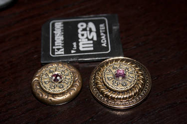 Steampunk Magnetic Pins by Daemonworks