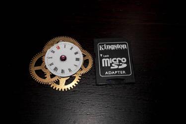 Steampunk Clockwork Pendant by Daemonworks