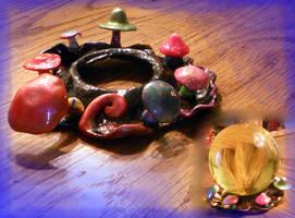 Mushroom Ring stand