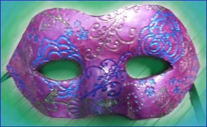 Purple Swirly by Leucrota