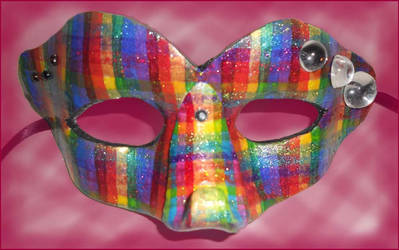 Rainbow Plaid by Leucrota