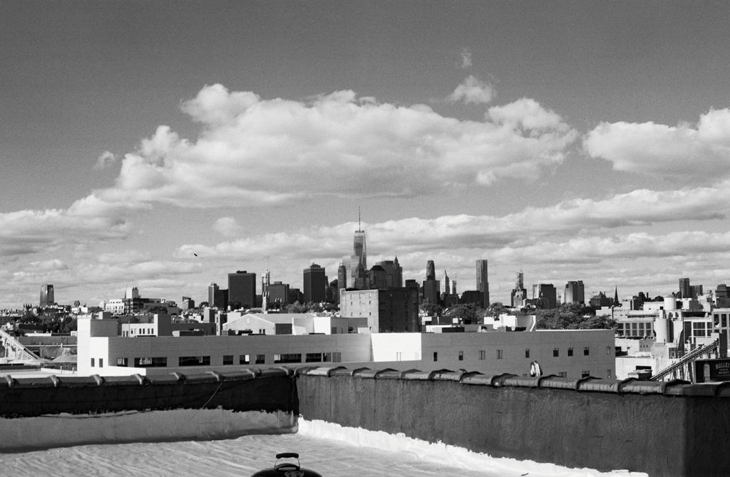 Manhattan from Brooklyn by AegisAvantGarde