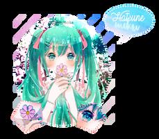 Signature Hatsune Miku by HimeHonoka