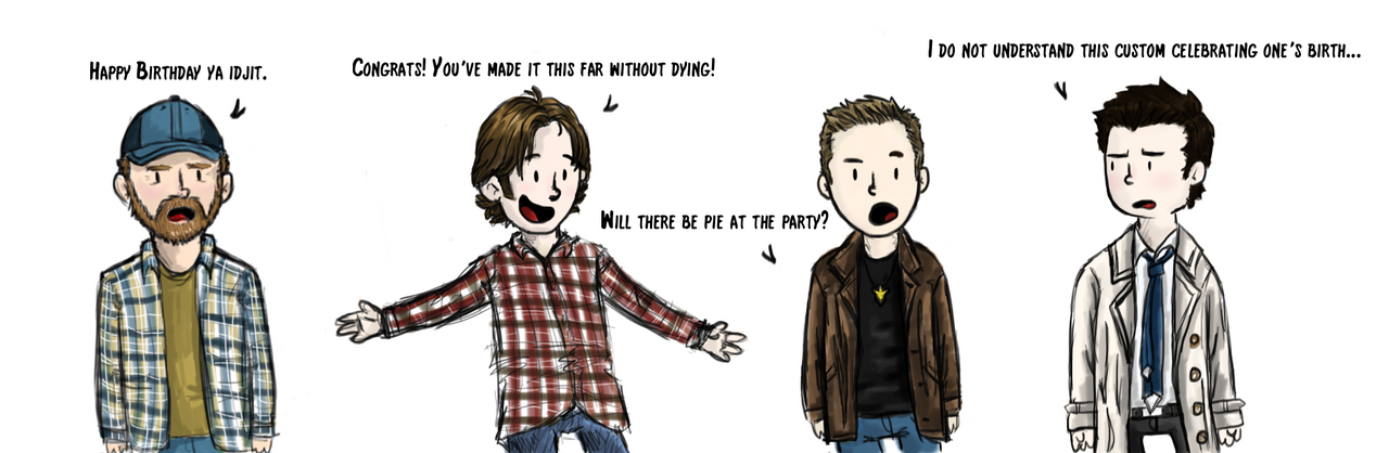 A Very Supernatural Birthday by barngrl11