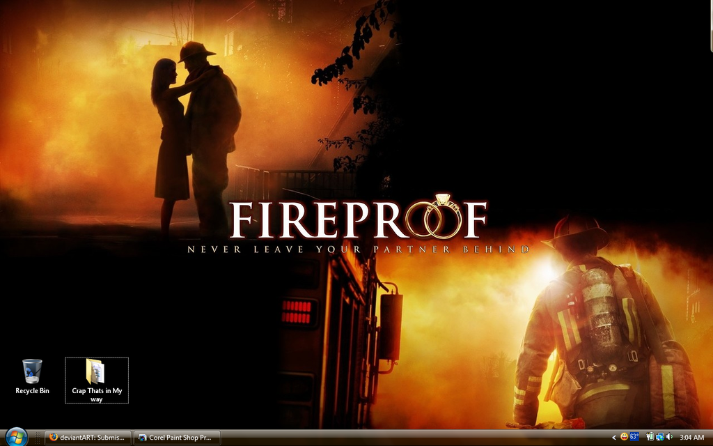 Password for fireproof movie
