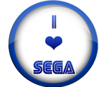 I Love SEGA badge by darkfailure