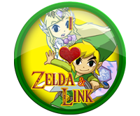 I Love Link And Zelda Badge by darkfailure