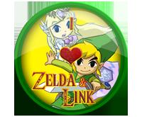 I Love Link And Zelda Badge by darkfailure
