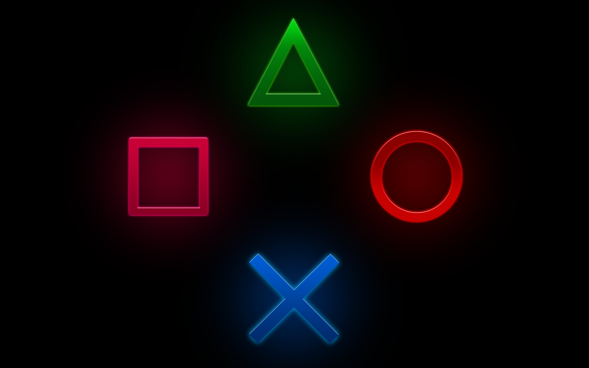 Playstation Buttons Wallpaper