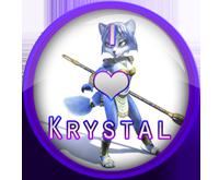 I Love Krystal Badge Req. by darkfailure