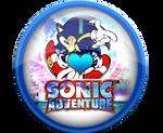 I Love Sonic Adventure Badge by darkfailure