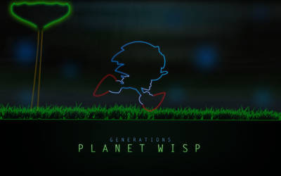 Planet Wisp Neon by darkfailure