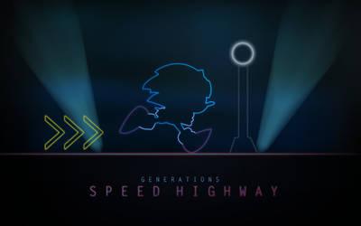 Speed Highway Neon by darkfailure