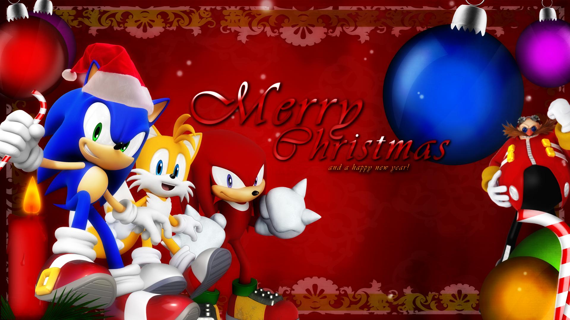 Sonic Christmas Wallpaper by darkfailure on DeviantArt