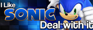 I Like Sonic - Deal With it! by darkfailure