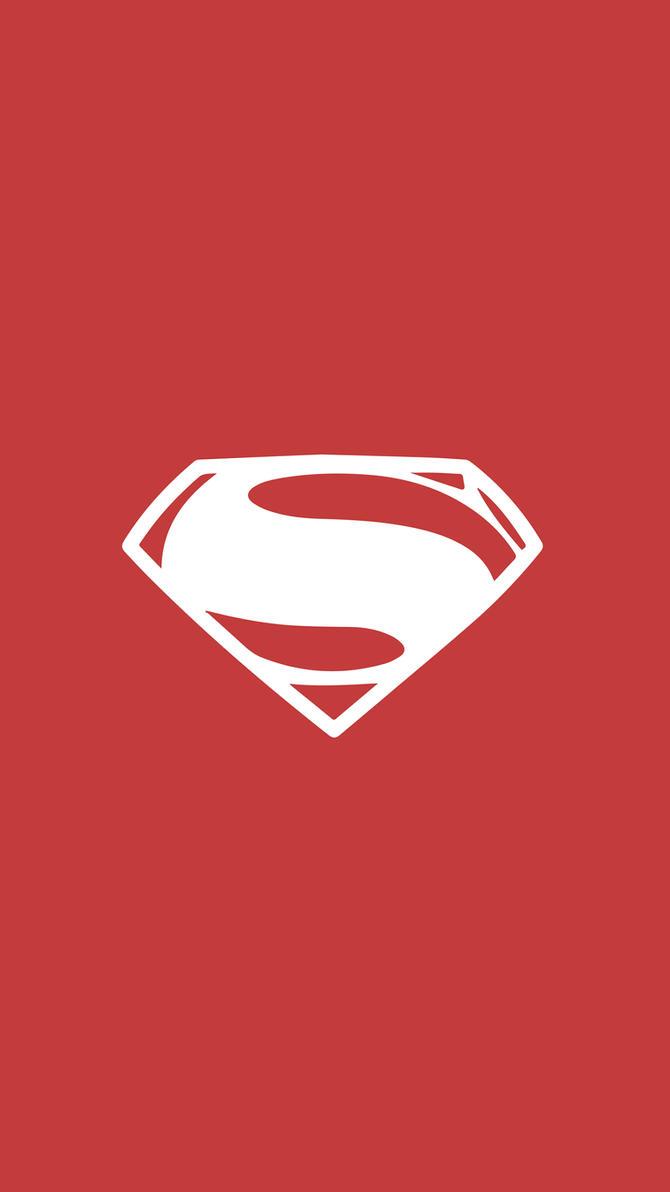 Beautiful Wallpaper Logo Justice League - justice_league_superman_wallpaper_mobile_by_darkfailure-da38d38  Picture_477534.jpg
