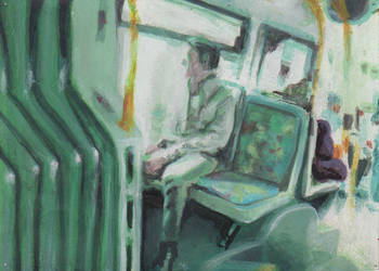 Lonely Busdriver by Ojaque