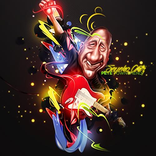 Pete Townshend by xiTzSeyeko