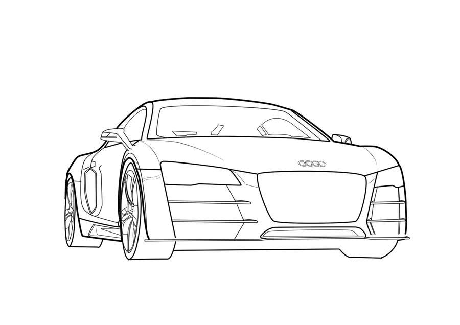 Audi Car Vector By Ivanteowei On DeviantArt - Audi car vector