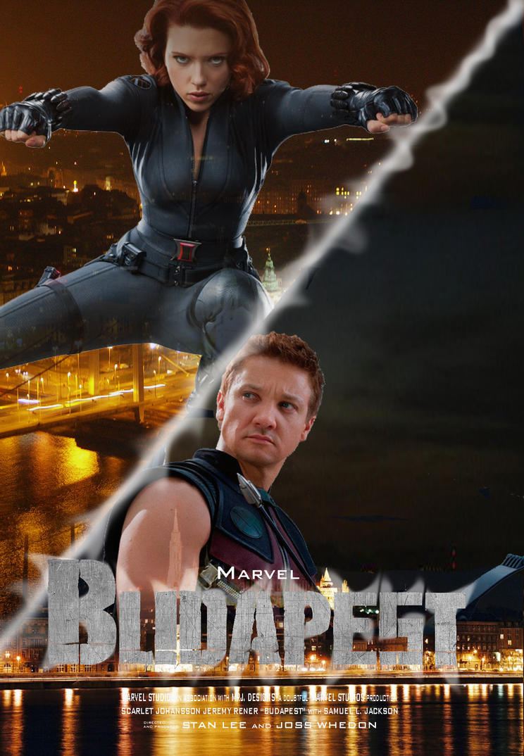 budapest movie poster by BlindAcolyte