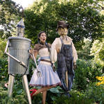 Dorothy, Tim Man and the Scarecrow
