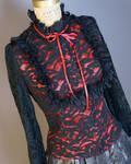 Steampunk blouse