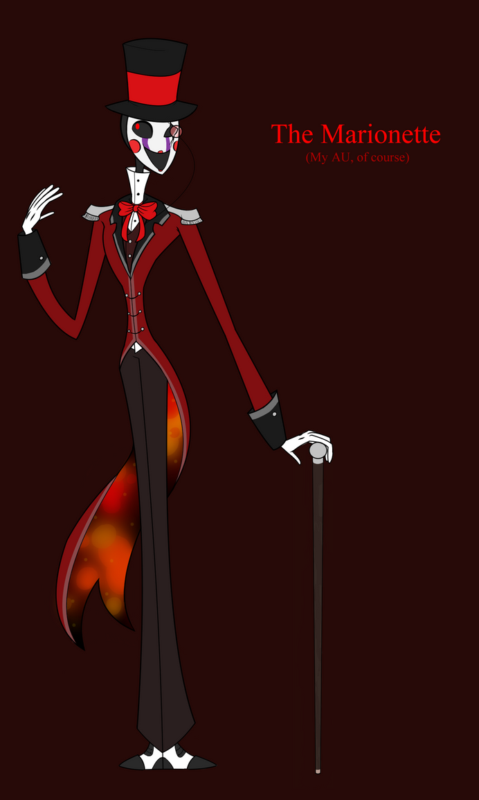 The Marionette [FNaF] by XxYellow-NinjaxX101