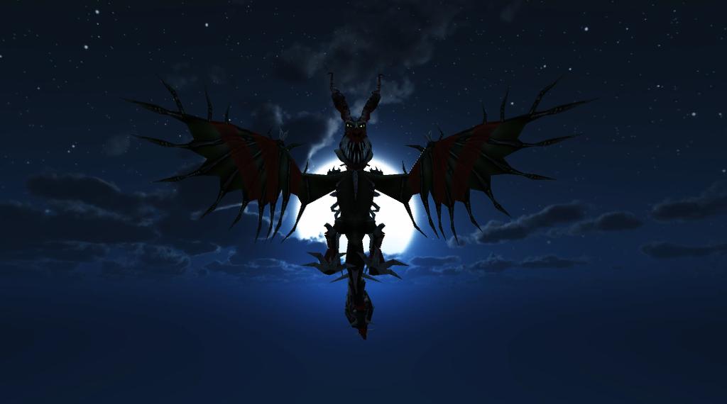 Titan Boneknapper for Dreadfall by WhispertheWolfie