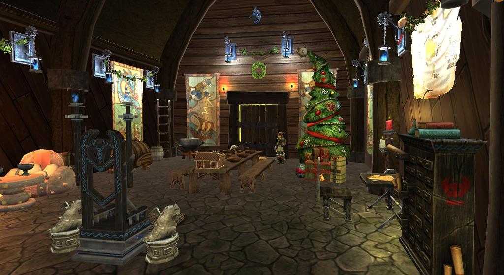 Deck the Halls for Snoggletog! by WhispertheWolfie