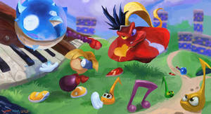 Rayman  Red Drummer