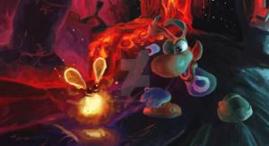Rayman2 Le vaisseau prison