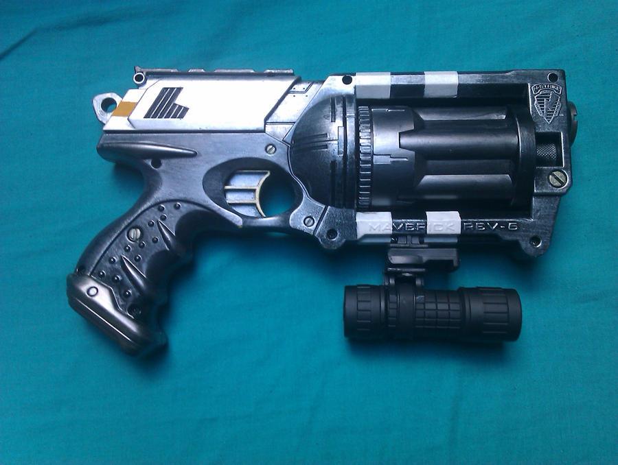 Custom Modified 18 Shot NERF Maverick - WIP by MarcWF ...