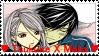 Tsukune x Moka stamp 2 by Darksoulrosario