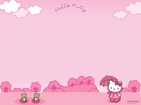 Hello Kitty Desktop. Pink Hello Kitty Desktop by