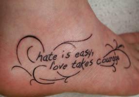 New Tattoo by sylnn