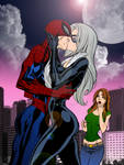 Spider-Man Black Cat and MJ - Campbell