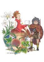 The Borrower Arrietty by yagihikaru