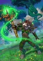 Nayini in Emerald dream by yagihikaru