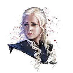 Game of Thrones/Daenerys Targaryen by yagihikaru